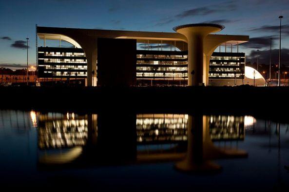 Palácio Tiradentes - Cidade Administrativa - Minas Gerais - Oscar Niemeyer
