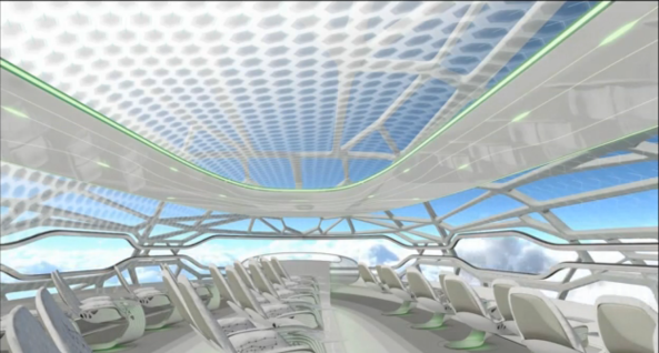 Airbus - Conceito de cabine (3)