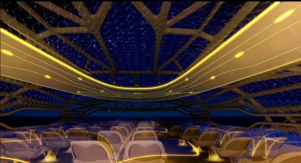 Airbus - Conceito de cabine (4)