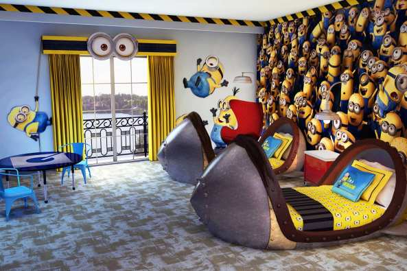 Despicable me room